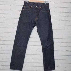 Levi's 501 Men's Dark Wash Straight Leg Jeans